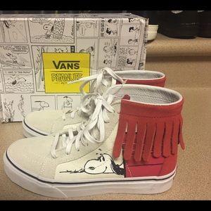 Vans Snoopy Peanuts SK8-HI Dog House M4.5/W6